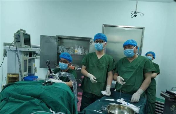 【市二院】市二医院成功开展我市首例喉癌微创手术